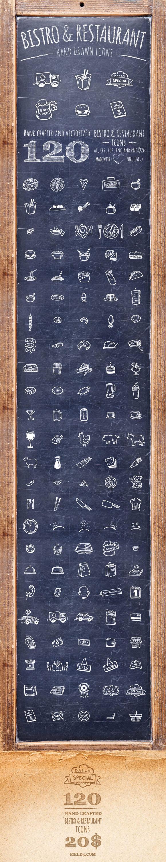 Bistro & Restaurant Icons