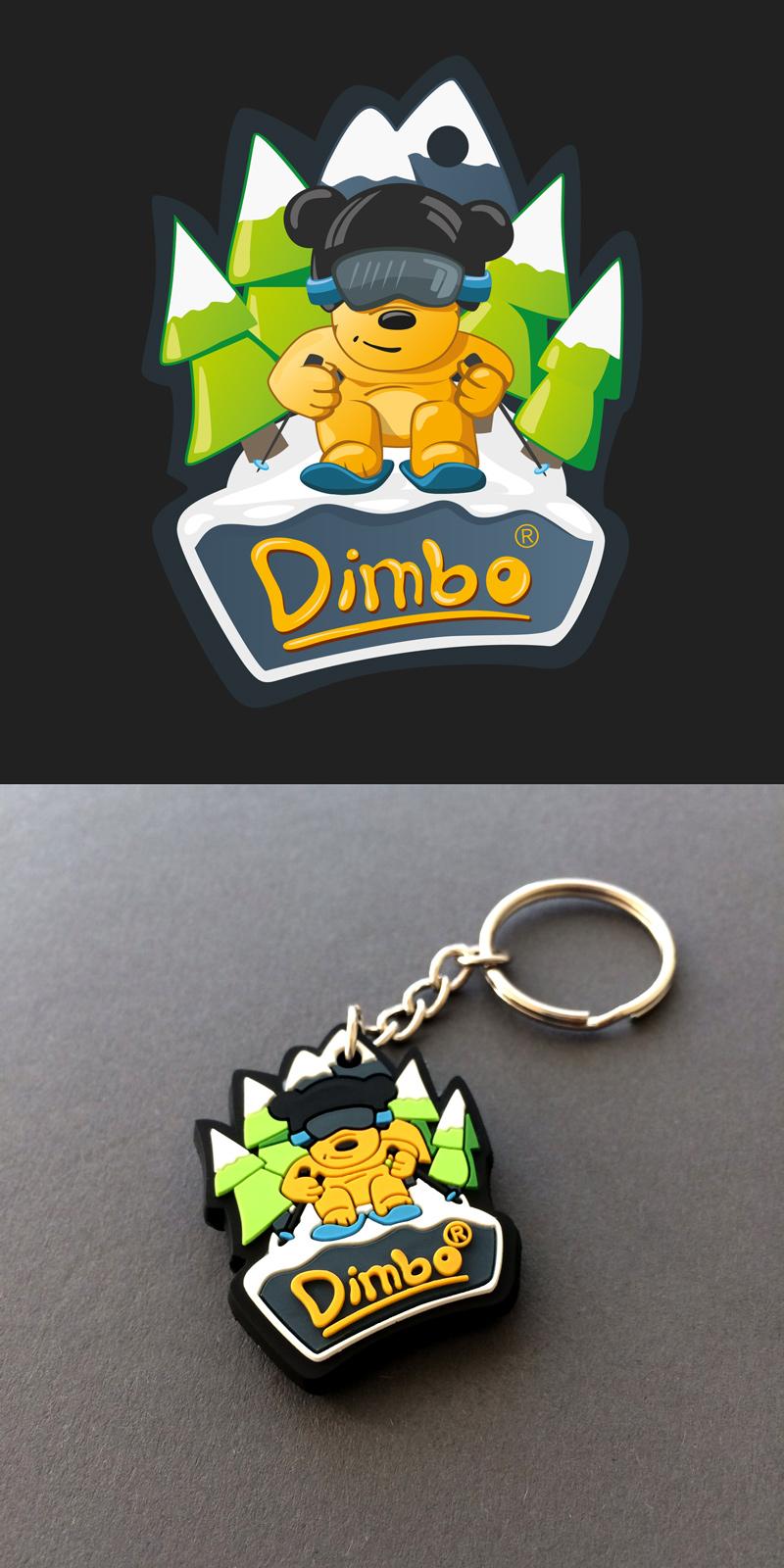 Dimbo's keychain